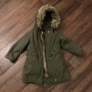 GAP girls 3-in-1 parka coat size 5